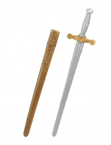 Zwaard van een middeleeuwse ridder