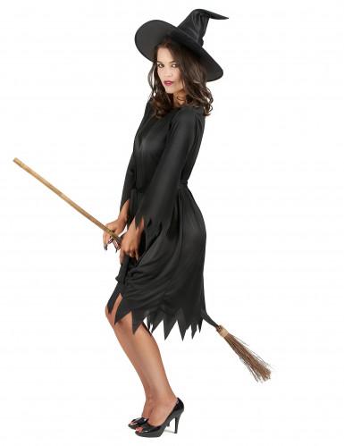 Miss Black toverheksen outfit voor vrouwen-1