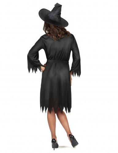 Miss Black toverheksen outfit voor vrouwen-2