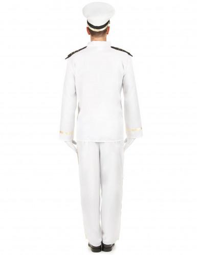 Wit zeeman kapitein kostuum voor mannen-2