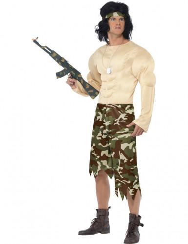 Grappig militairen kostuum voor mannen