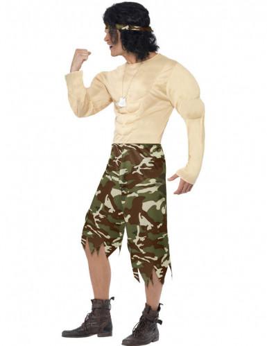 Grappig militairen kostuum voor mannen-1