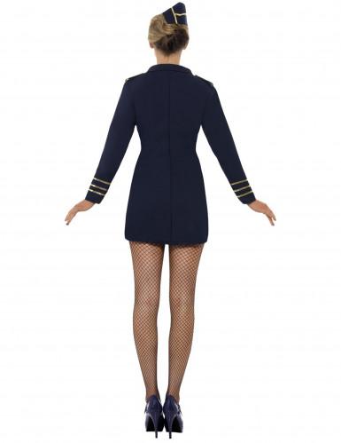 Sexy stewardessen kostuum voor vrouwen-2