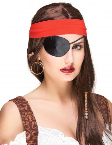 Piratenooglapje voor volwassenen