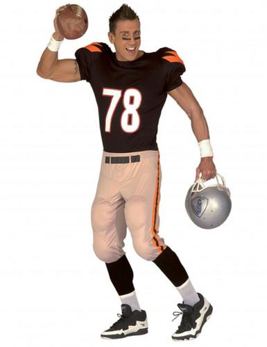 Amerikaans football kostuum voor mannen