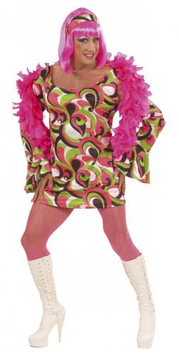 Disco travestiet carnavalskleding voor mannen
