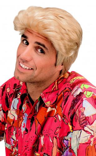 Blonde Lucianopruik voor mannen