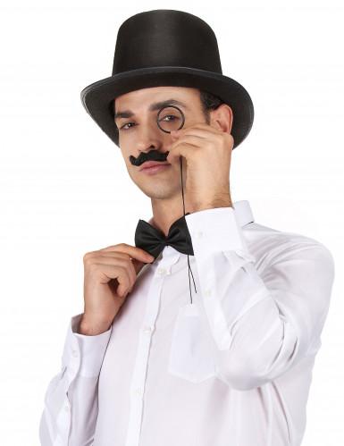 Klassieke zwarte hoge hoed voor volwassenen-1