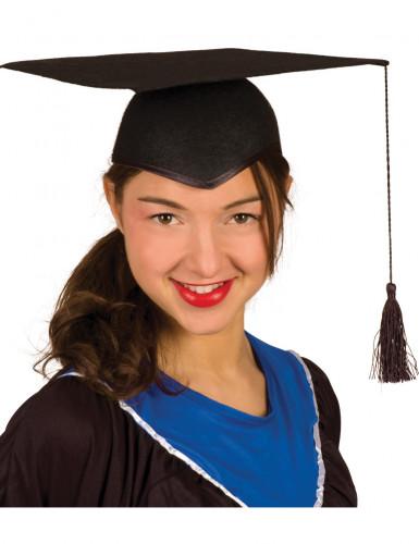 Academische studentenhoed voor volwassenen