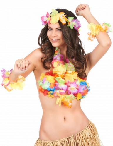 Kleurrijke Hawaii accessoires set