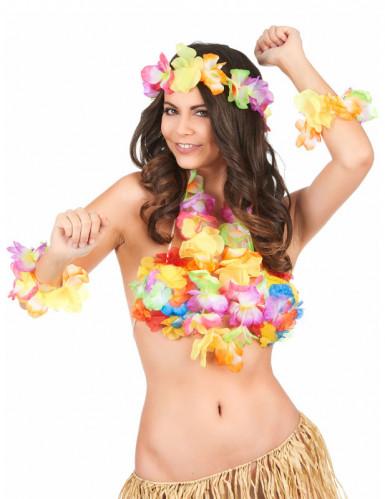 Kleurrijke Hawaii accessoires set-1