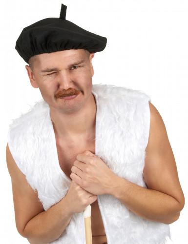 Traditionele zwarte baret-1
