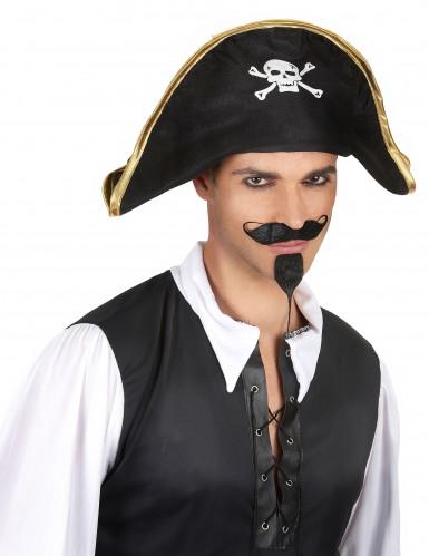 Piratenleiderhoed voor volwassenen-1