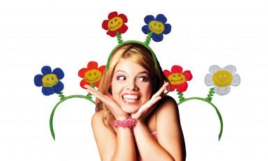 Bloemenhaarband voor volwassenen