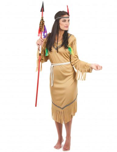 Indianen squaw kostuum voor vrouwen