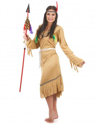 Indianen squaw kostuum voor vrouwen-1