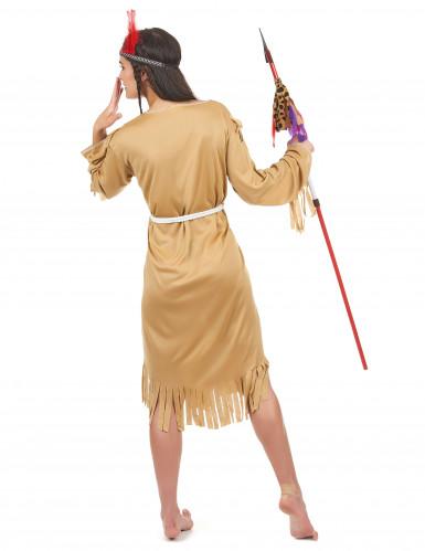 Indianen squaw kostuum voor vrouwen-2