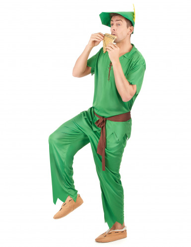 Groen boogschutter kostuum voor heren-1