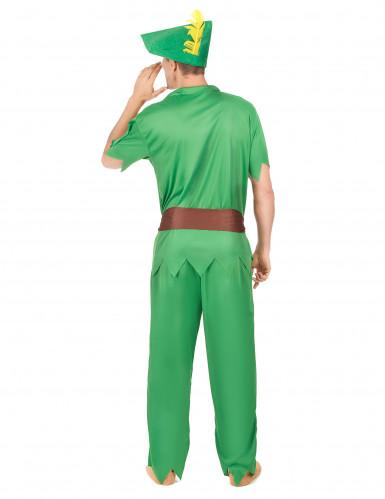 Groen boogschutter kostuum voor heren-2