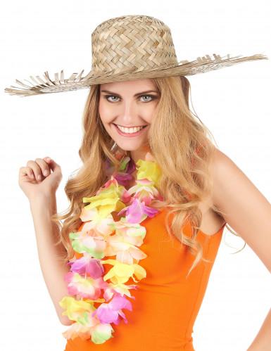 Strooien Hawaïhoed voor volwassenen-2