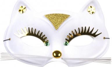 Half kattenmasker voor volwassenen