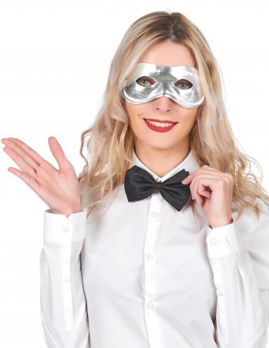 Metaalachtig half masker voor volwassenen