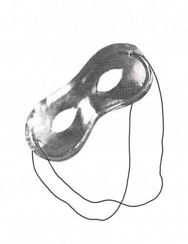 Metaalachtig half masker voor volwassenen-1