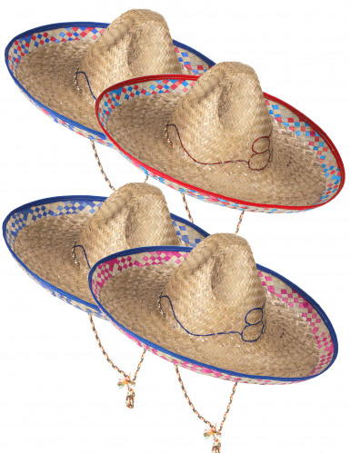 Mexicaanse strohoed sombrero voor volwassenen