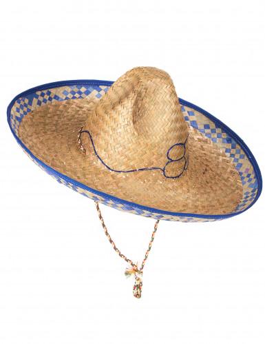 Mexicaanse strooien hoed voor volwassenen-1