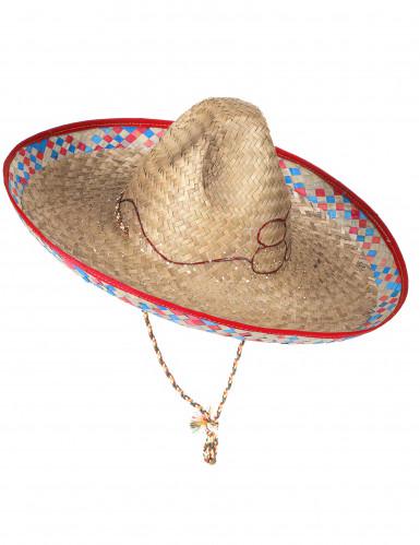 Mexicaanse strohoed sombrero voor volwassenen-2