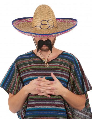 Mexicaanse strohoed sombrero voor volwassenen-5