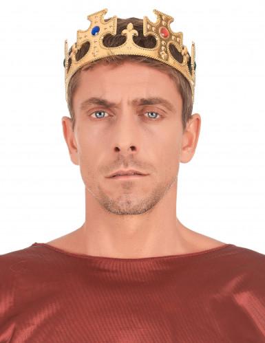 Goudkleurige keizerskroon voor volwassenen-2