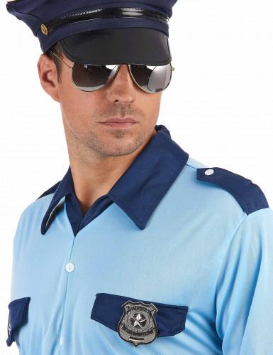 Metalen politie agent badge volwassenen-1