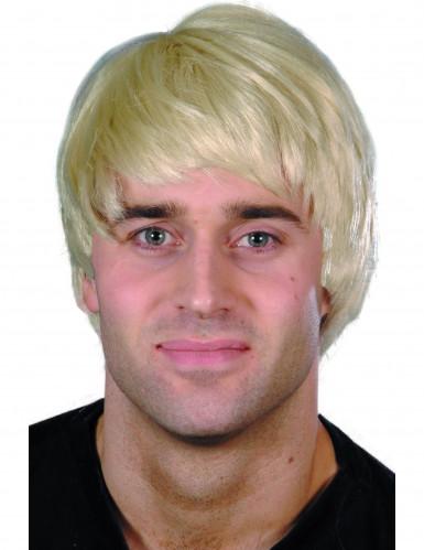 Blonde pruik voor mannen