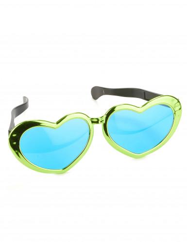 Reuze harten bril voor volwassenen-2