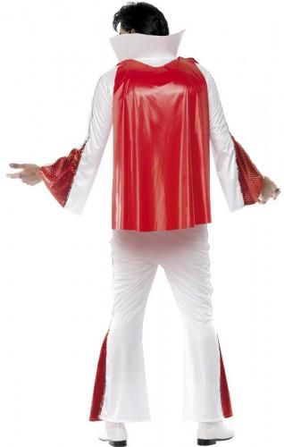 Wit en rood Elvis Presley™ kostuum voor mannen-2