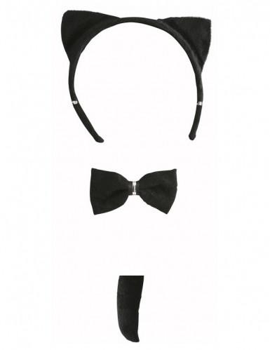 Zwarte kat set voor volwassenen-1