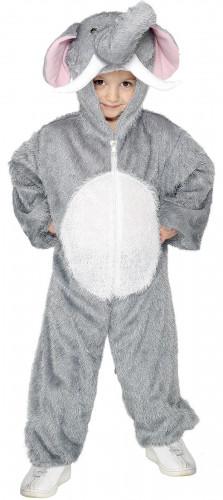 Grijs olifanten kostuum voor kinderen