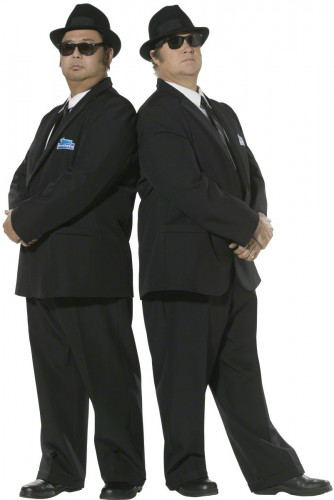 Blues Brothers™-vermomming voor mannen