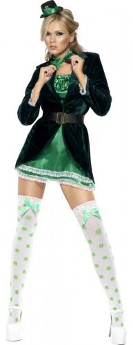 Kostuum van een sexy Ierse voor vrouwen