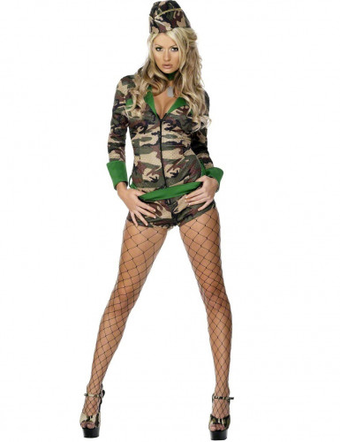 Sexy militair pak voor dames