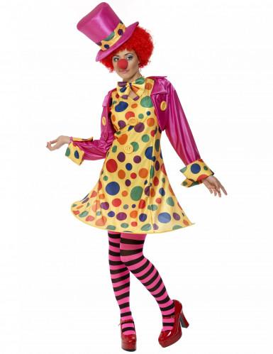 Clowns kostuum voor vrouwen