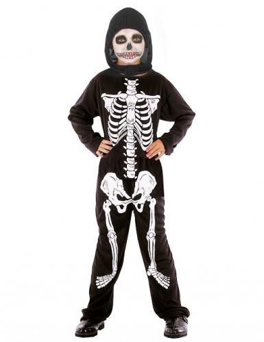 Halloween skelet kostuum voor jongens