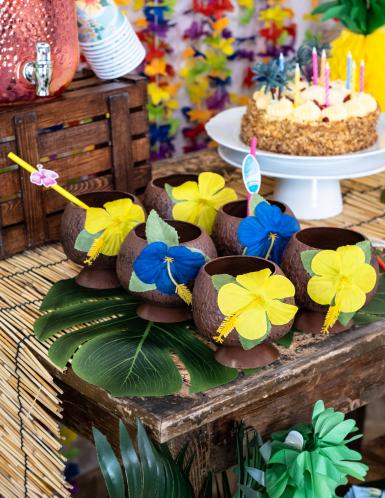 Hawaii kokosnoot beker -1