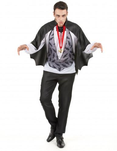Duister graaf Dracula pak voor mannen