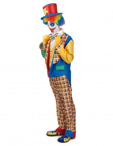 Kleurrijk clown kostuum voor mannen-1
