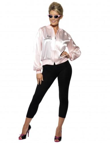 Jaren 50 Pink Ladies jasje voor vrouwen