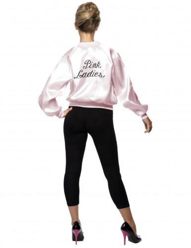 Jaren 50 Pink Ladies jasje voor vrouwen-1