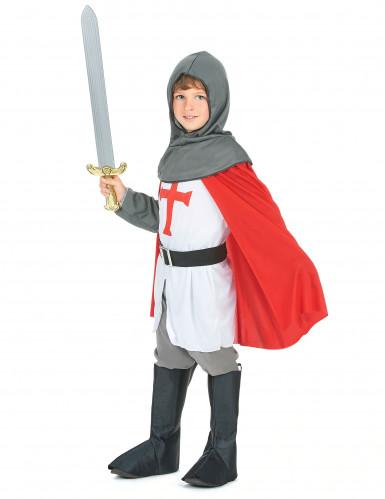 Kruisvaarder ridder kostuum voor jongens-1