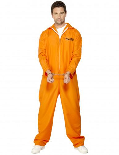 Gevangenis kostuum voor mannen